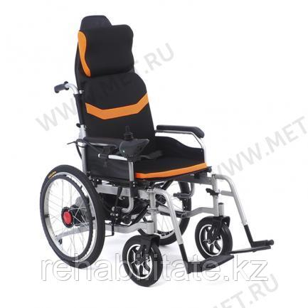 Кресло-коляска с гибридной спинкой и приводными колесами.MET COMFORT 21