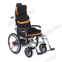 Кресло-коляска с гибридной спинкой и приводными колесами.MET COMFORT 21, фото 1