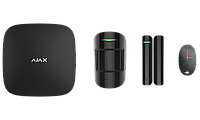 Комплект системы безопасности Ajax StarterKit Black, фото 1