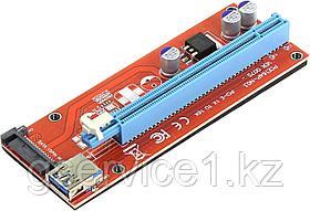 Riser ( Райзер ) PCI-E 1x - 16x, USB3.0  PCE164P-N03 Адаптер PCI-Ex1 M - PCI-Ex16 F