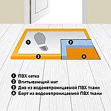 Дезинфекционные коврики  Дезковрики 50 * 65, фото 2