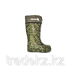 Обувь, сапоги для охоты и рыбалки EVASHOES КАБЛАН ПРИНТ (-55°C), камуфляж, размер 43, фото 2