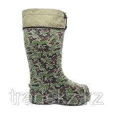 Обувь, сапоги для охоты и рыбалки EVASHOES КАБЛАН ПРИНТ (-55°C), камуфляж, размер 43, фото 3