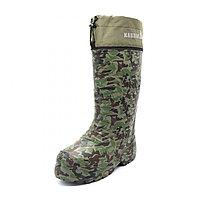 Обувь, сапоги для охоты и рыбалки EVASHOES КАБЛАН ПРИНТ (-55°C), камуфляж, размер 43