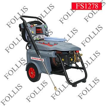 Мойка аппарат пластик с колесо C ав-т 380 V 5.5 KW 3200 PSI-H