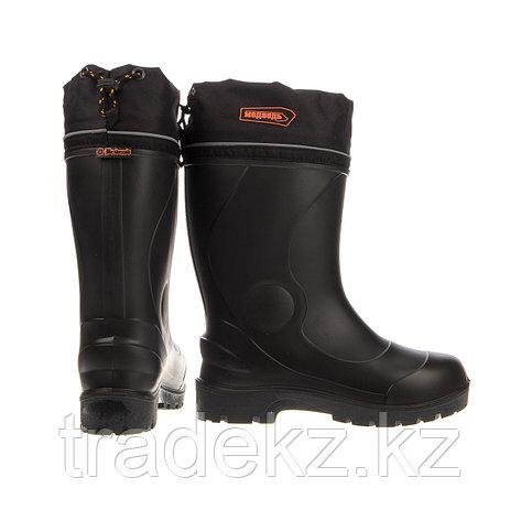 Обувь, сапоги для охоты и рыбалки ЭВА МЕДВЕДЬ ПУ (-60°C), черный, размер 45, фото 2