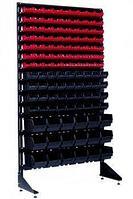 Стеллаж с пластиковыми ящиками 1801-7/4/3 CH-K