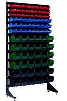 Стеллаж с пластиковыми ящиками 1801-3/3/6 CH-Kombo