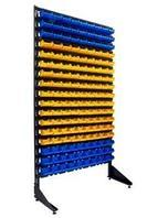 Стеллаж с пластиковыми ящиками 1801-17/0/0 S-G