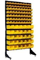 Стеллаж с пластиковыми ящиками 1801-2/5/5 G