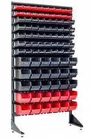 Стеллаж с пластиковыми ящиками 1801-2/5/5 CH-K