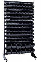 Стеллаж с пластиковыми ящиками 1801-1/11/2 CH