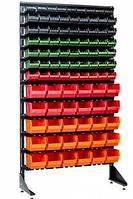 Стеллаж с пластиковыми ящиками 1801-1/6/5 CH-Kombo