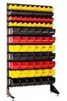 Стеллаж с пластиковыми ящиками 1801-0/4/7 CH-Kombo