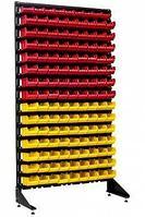 Стеллаж с пластиковыми ящиками 1801-1/14/0 K-G