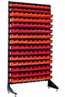 Стеллаж с пластиковыми ящиками 1801-2/13/0 K-O