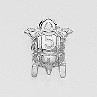 Кулон серебряный пузатый Mini