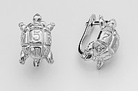 Серьги серебряные Классика