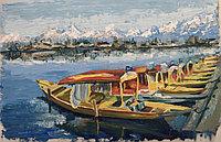 """Картина """"Озеро Дал"""""""