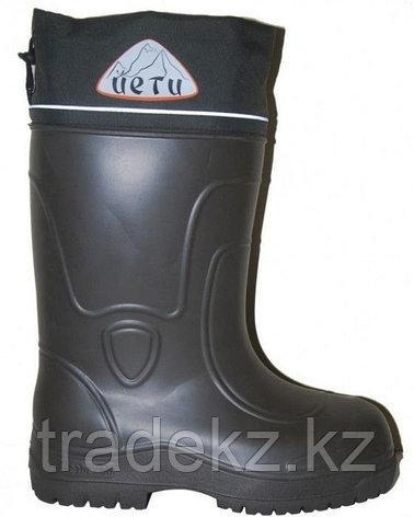 Обувь, сапоги для охоты и рыбалки EVA ЙЕТИ (-55°C) черный, размер 42, фото 2