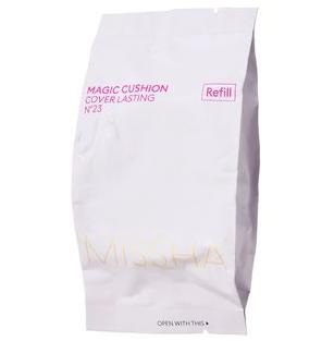 Сменный блок(запаска) для кушона, Missha Magic Cushion Cover Lasting SPF50+/PA+++ Refill, Тон №21
