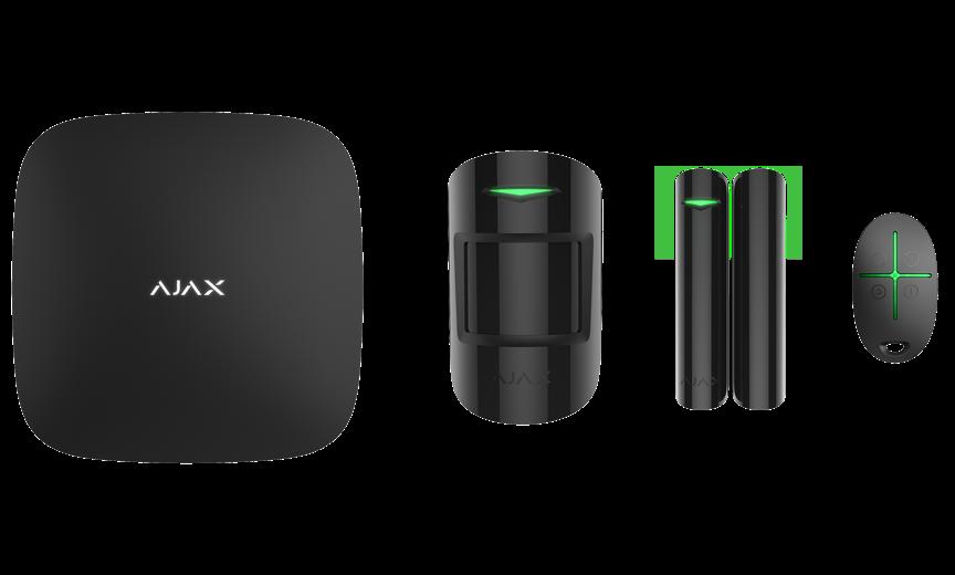 Продвинутый стартовый комплект системы безопасности Ajax StarterKit Plus Black