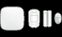 Продвинутый стартовый комплект системы безопасности Ajax StarterKit Plus White, фото 1