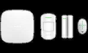 Продвинутый стартовый комплект системы безопасности Ajax StarterKit Plus White