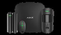 Продвинутый стартовый комплект системы безопасности Ajax StarterKit Cam Black, фото 1