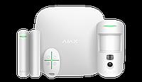 Продвинутый стартовый комплект системы безопасности Ajax StarterKit Cam White, фото 1