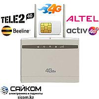 4G Модем WiFi Роутер / Работает на Любой SIM Карте / Две Антенны 4G