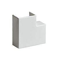 Поворот на 90 градусов, РУВИНИЛ, ПВР-40х25, для РКК-40х25, Белый, (20 штук в пакете)