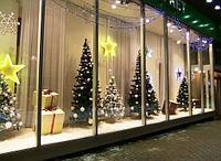 Оформление торговых центров/ магазинов/ офисов на новый год