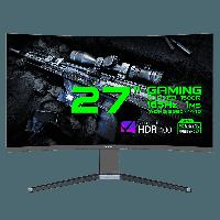 """Монитор ЖК 27"""" GameMax GMX27C165Q QHD <165Hz, 2560*1440, 1ms, HDR400, 1*DP, 2*HDMI>"""