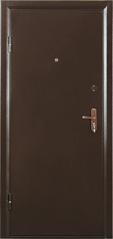 Металлическая дверь СИТИ 2 ОРИОН 2066-850 R/L