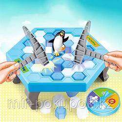 """Настольная игра """"Не урони пингвина"""" - Penguin Trap, Алматы"""