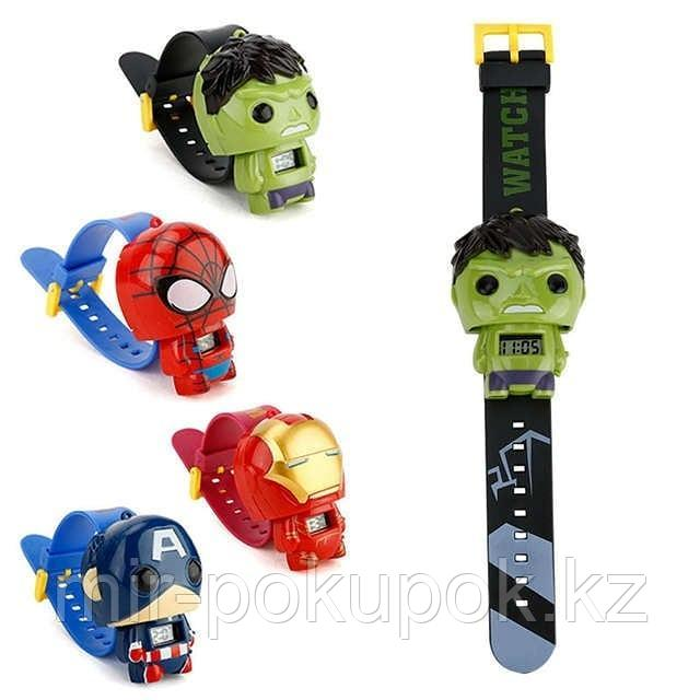 Детские часы-браслеты Супергерои Marve