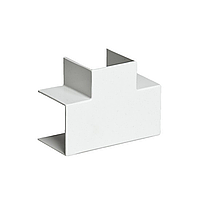 Тройник накладной 90 градусов, РУВИНИЛ, ТРН-80х60, для РКК-80х60 и 80х40, Белый, (4 штуки в пакете)