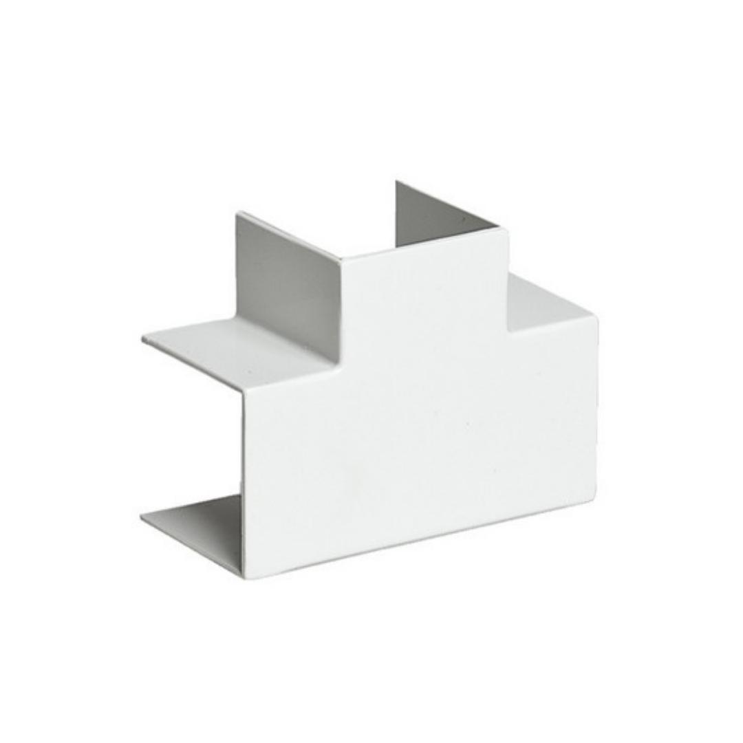 Тройник накладной 90 градусов, РУВИНИЛ, ТРН-100х60, для РКК-100х60 и 100х40, Белый, (4 штуки в пакет
