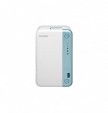 """QNAP TS-251D-2G Сетевой RAID-накопитель, 2 отсека 3,5""""/2,5"""", HDMI-порт. Intel Celeron J4005 2,0 ГГц (2,7 ГГц),"""