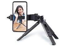 Комплект (Компактный настольный штатив для смартфонов с регулируемой высотой Jinbei L-15 + Поворотное