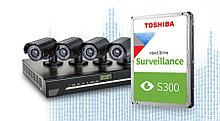 "Toshiba HDWT140UZSVA Жесткий диск 4Tb Surveillance S300 5400rpm 128Mb SATA3 3,5"""
