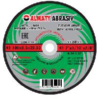 Круги отрезные по металлу Almaty Abrasiv Gerad