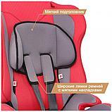 Удерживающее устройство для детей ZLATEK ZL513, lux, красный, 9-36 кг,01-19988, фото 3