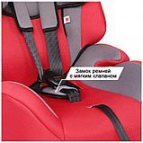 Удерживающее устройство для детей ZLATEK ZL513, lux, красный, 9-36 кг,01-19988, фото 5