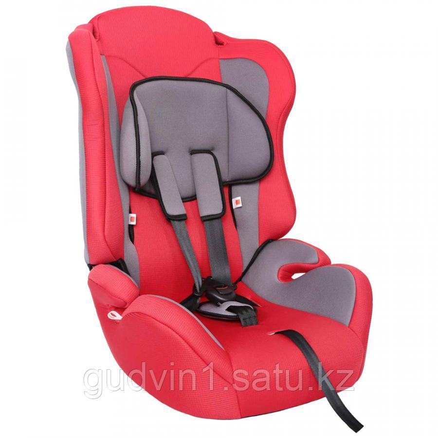 Удерживающее устройство для детей ZLATEK ZL513, lux, красный, 9-36 кг,01-19988