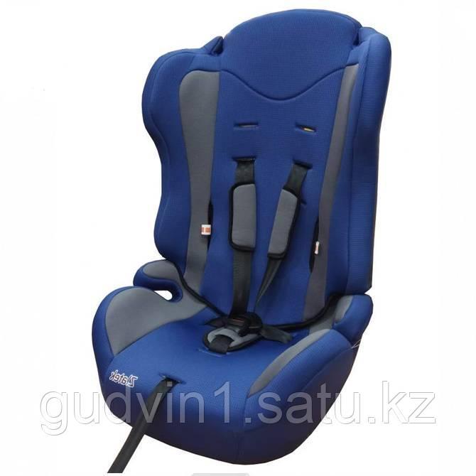 Удерживающее устройство для детей ZLATEK ZL513, lux, синий, 9-36 кг, 01-19990