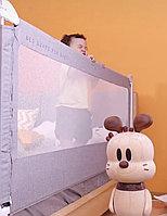 Защитный барьер на кровать с регулированием высоты от 76 до 92см
