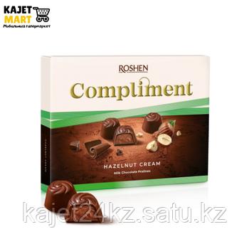 Конфеты Рошен Compliment с ореховой начинкой 122г.