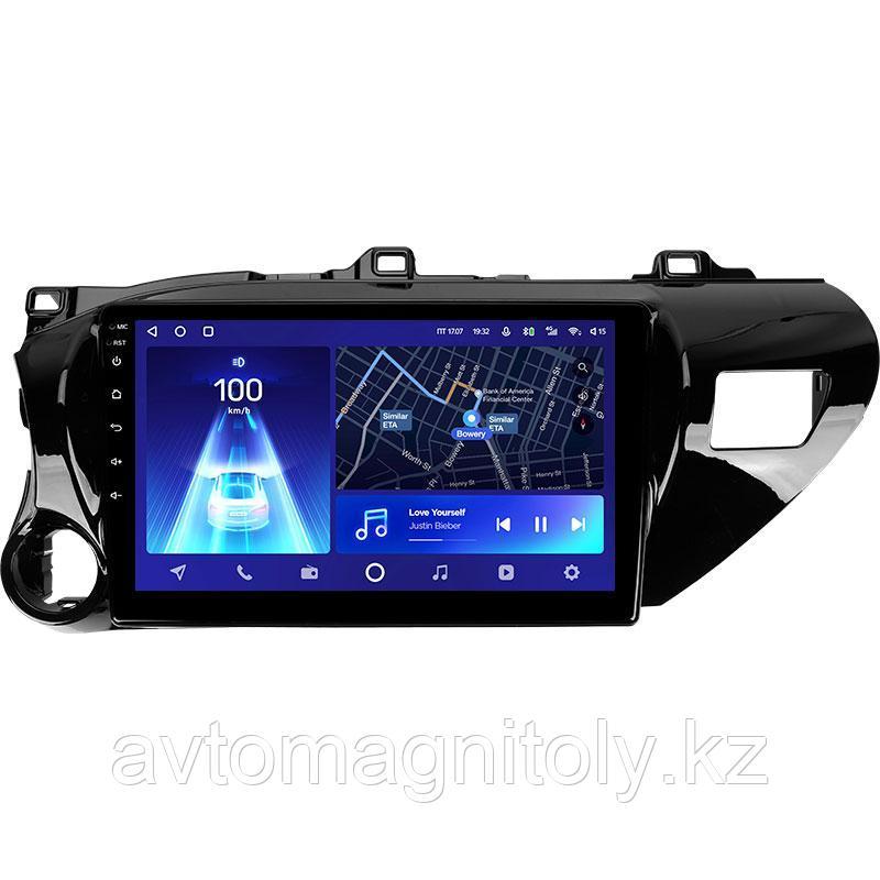 Магнитола Teyes CC2L для Toyota Hilux 2016-2020